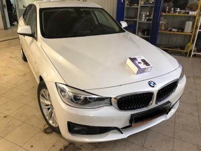 Установка автосигнализации Pandect X-1800bt с автозапуском на BMW 3 Series защита от угона