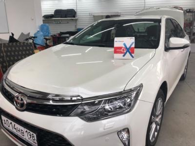 Установка новейшей автосигнализации Pandora DX-6X на автомобиль Toyota Camry защита от угона