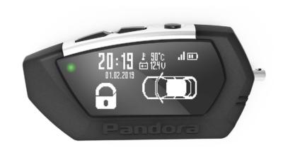 Pandora брелок с ЖК D-022 для DX-91 LoRa фото